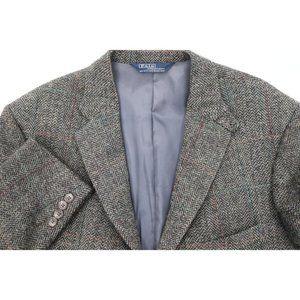 Vtg Polo Ralph Lauren men's 42R tweed sport coat